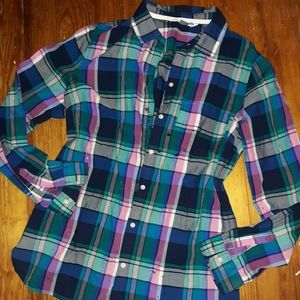 Old Navy Large plaid Button up Shirt